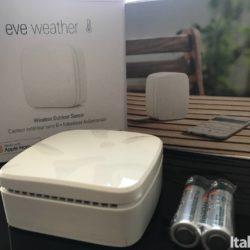 Eve Weather Open Front Pack 250x250 Eve Weather: Il sensore wireless per sapere sempre la temperatura esterna