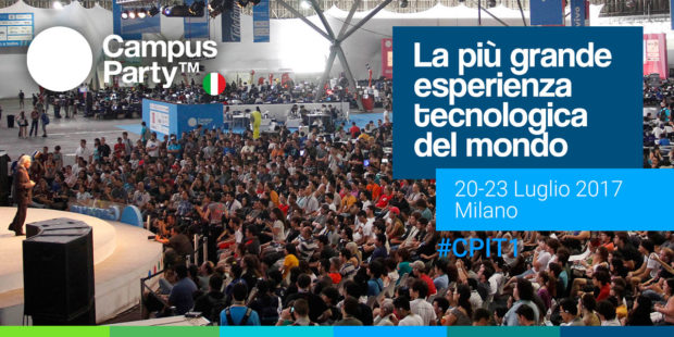banner 1200x600px 620x310 Annunciati i primi speakers di Campus Party Italia