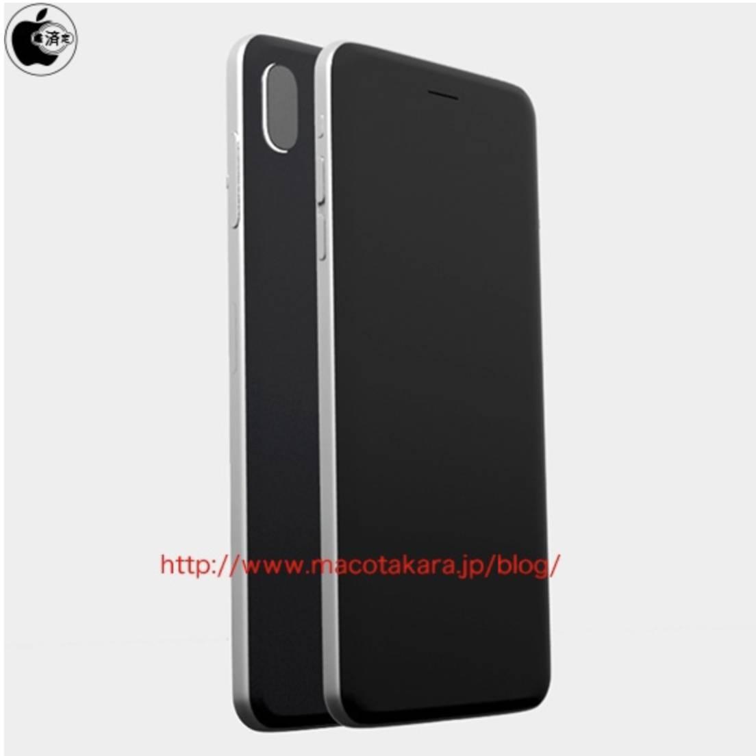 iphone 8 1 1104x1104 iPhone Edition sarà dotato di camera verticale e frame in acciaio inossidabile?