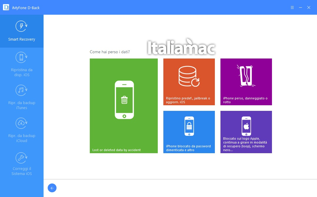 www.italiamac.it recupera dati ios imyfone d back imyfone d back review 2 Recupera i dati persi su iOS grazie ad iMyFone D Back