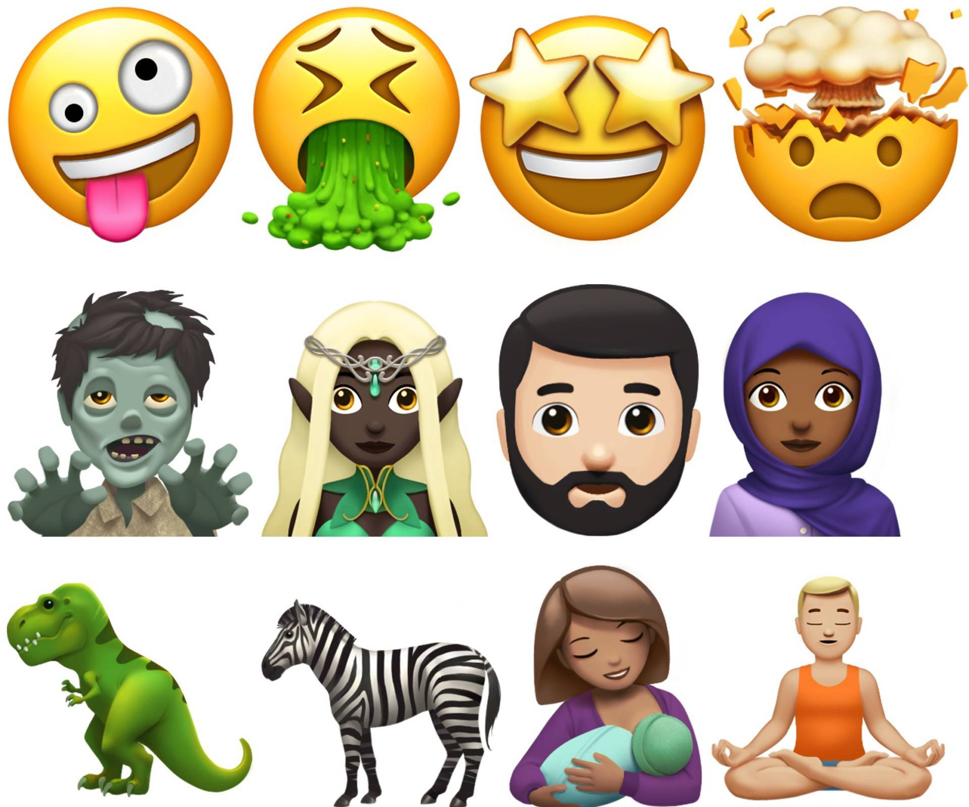 how to get new emojis on iphone ecco le nuove emoji che arriveranno con ios 11 20102