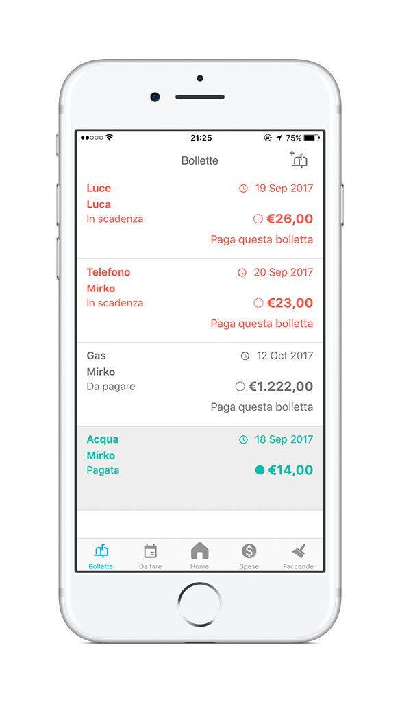 www.italiamac.it roommate app per coinquilini universitari bollette RoomMate: app per coinquilini universitari