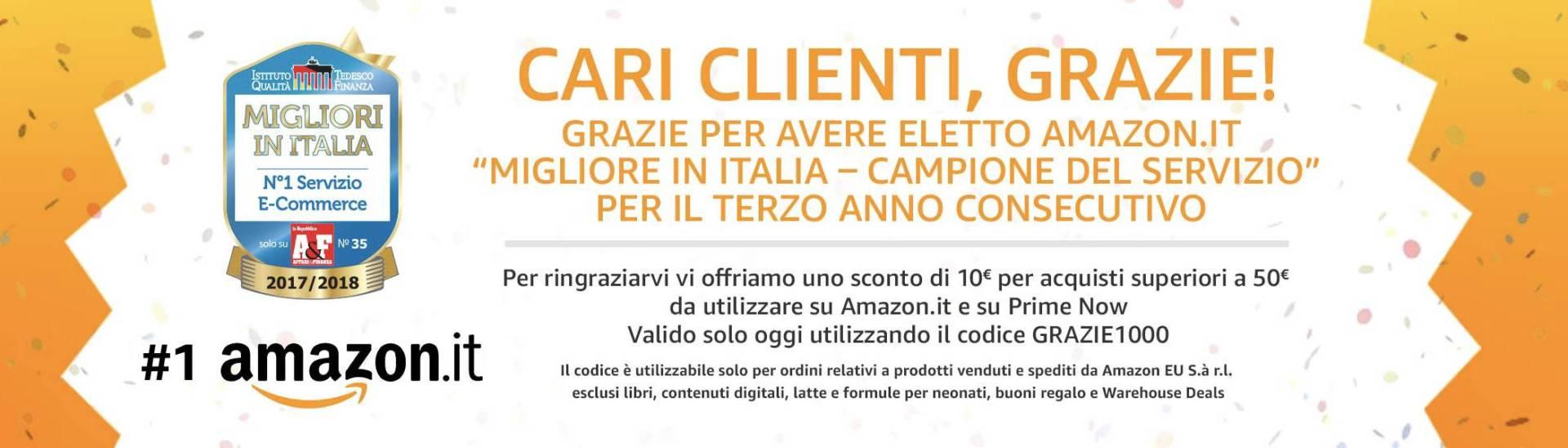 www.italiamac.it amazon it regala e10 di sconto solo per oggi www.italiamac.it amazon it regala e10 di sconto solo per oggi schermata 2017 11 10 alle 09.01.28 Amazon.it regala €10 di sconto solo per oggi