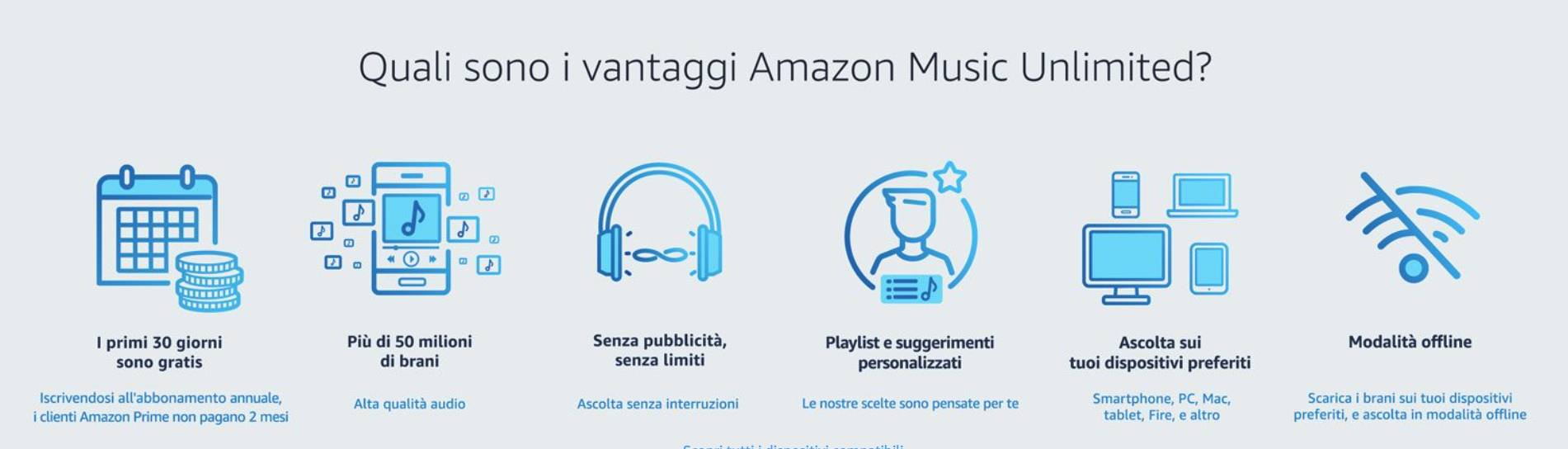 www.italiamac.it amazon music unlimited in offerta a e0 99 per tre mesi www.italiamac.it amazon music unlimited in offerta a e0 99 per tre mesi schermata 2017 12 26 alle 21.17.29 Amazon Music Unlimited in offerta a €0.99 per tre mesi