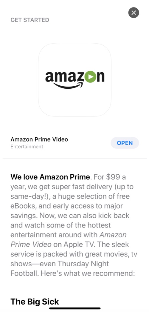 www.italiamac.it apple promuove per sbaglio lapp per apple tv di amazon prime video amazonprimevideoleak Apple promuove per sbaglio lapp per Apple TV di Amazon Prime Video