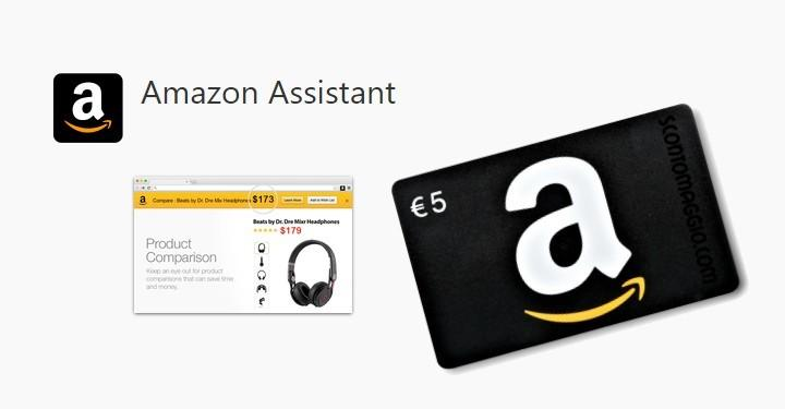 Amazon Assistant Coupon 5 euro