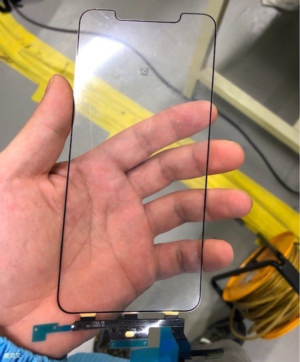 italiamac iphone x plus digitizer Trapelate le foto del presunto display di iPhone X Plus