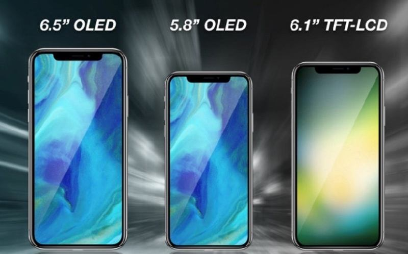 italiamac kuo2018iphonelineup2 Trapelate le foto del presunto display di iPhone X Plus
