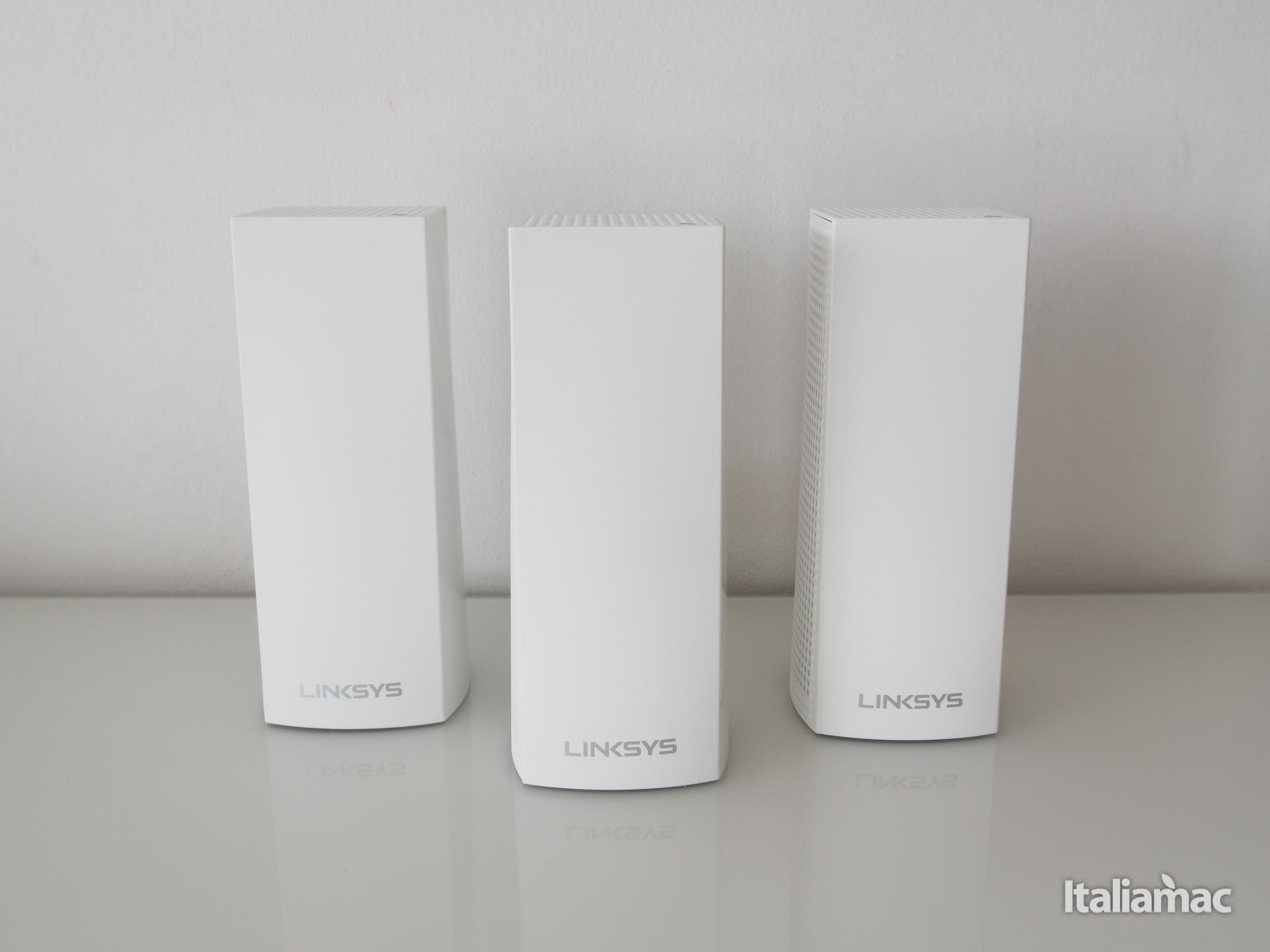 italiamac linksys velop front node Linksys reinventa i router tradizionali con Velop