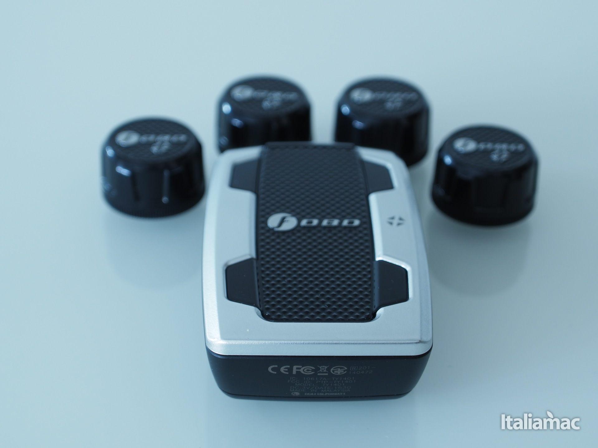 italiamac p3060913 FOBO Tire: Sensori intelligenti per la pressione degli pneumatici