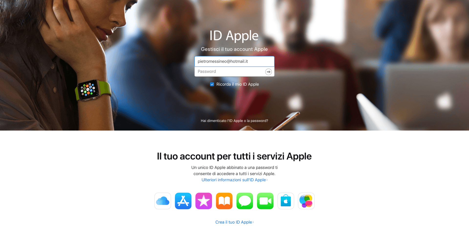 italiamac schermata 2018 03 29 alle 22.05.41 Il sito per la gestione dellID Apple permetterà di scaricare i dati salvati su iCloud