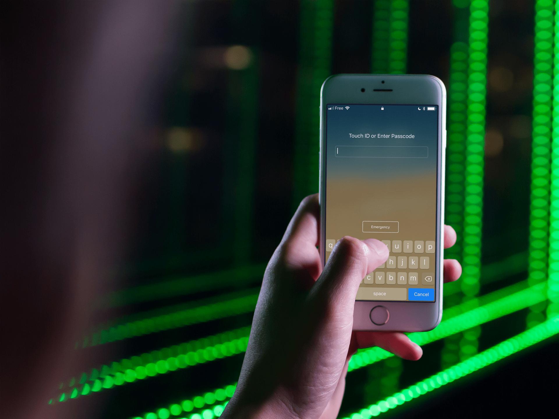italiamac alphanumeric passcode on iphone Il codice a 6 cifre per sbloccare iPhone non è più sicuro