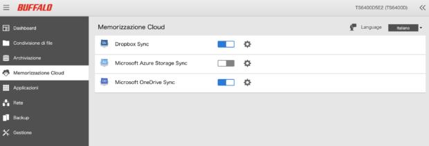 TS6400 cloud sync